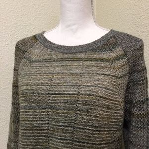 Christopher & Banks Space Dye Yarn Sweater
